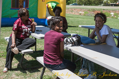 AAMU 2014 Football Spring Game Friends Fans and Pre-Post Game