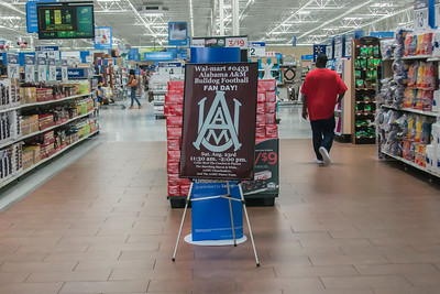 AAMU Sports 2014 Footall visit Walmart