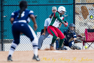 SWAC 2014 SBall Tournament Day 3 Jackson State vs MVSU