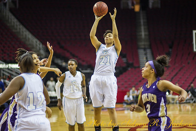 SWAC Basketball Tournament Day 4 Women SU vs PVAMU